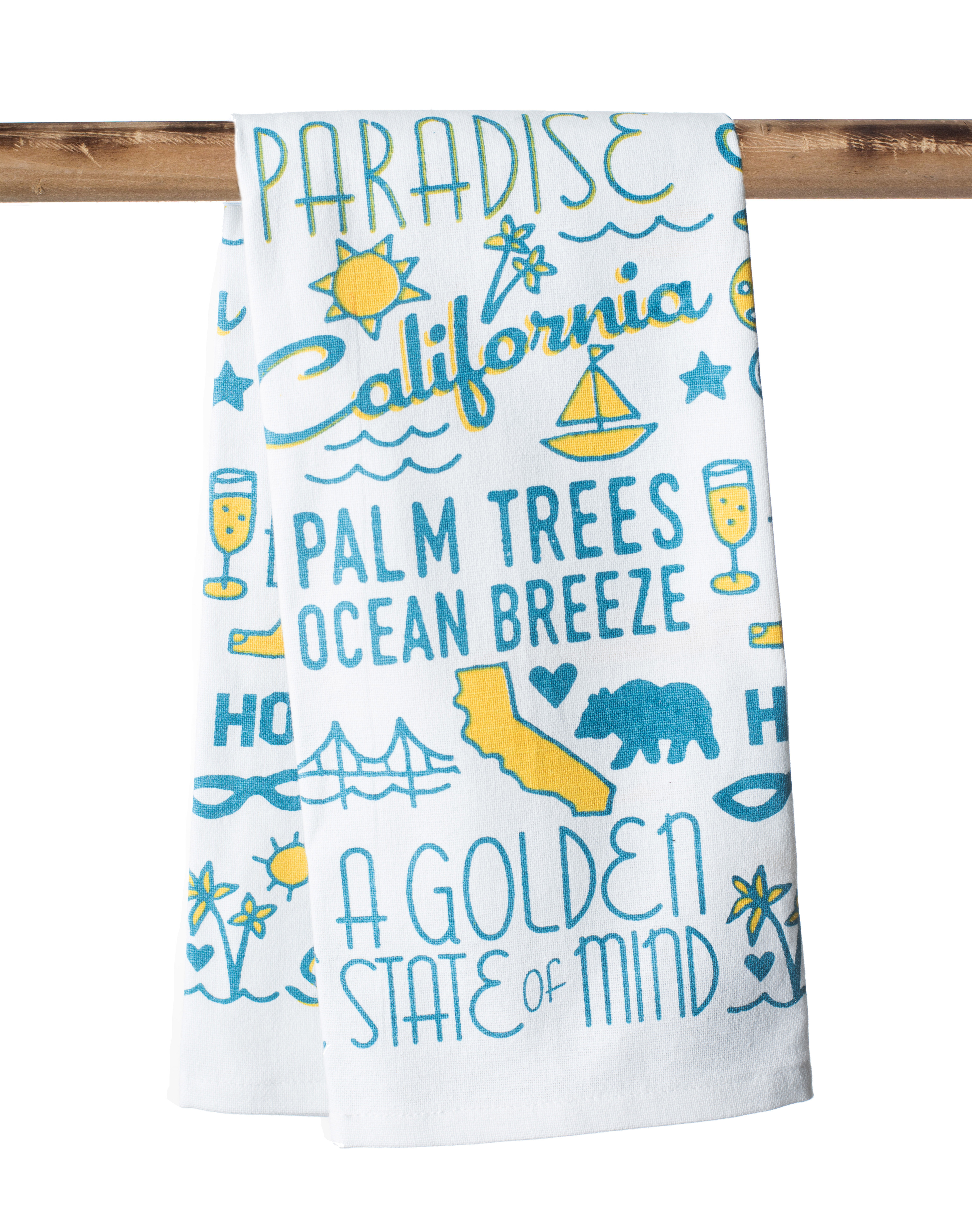 Food Words Kitchen Towel – The Parish Line
