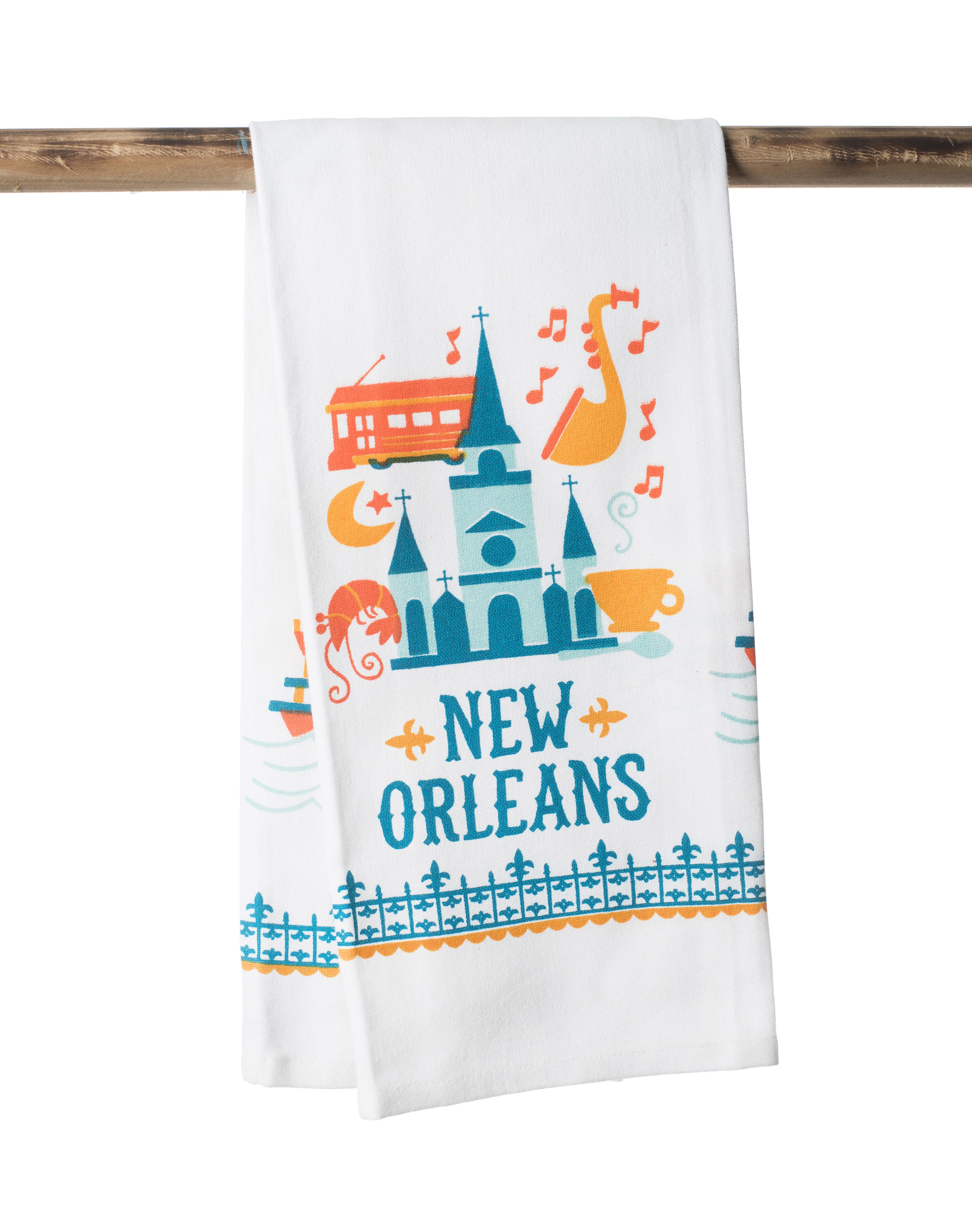 Louisiana Words Kitchen Towel – The Parish Line
