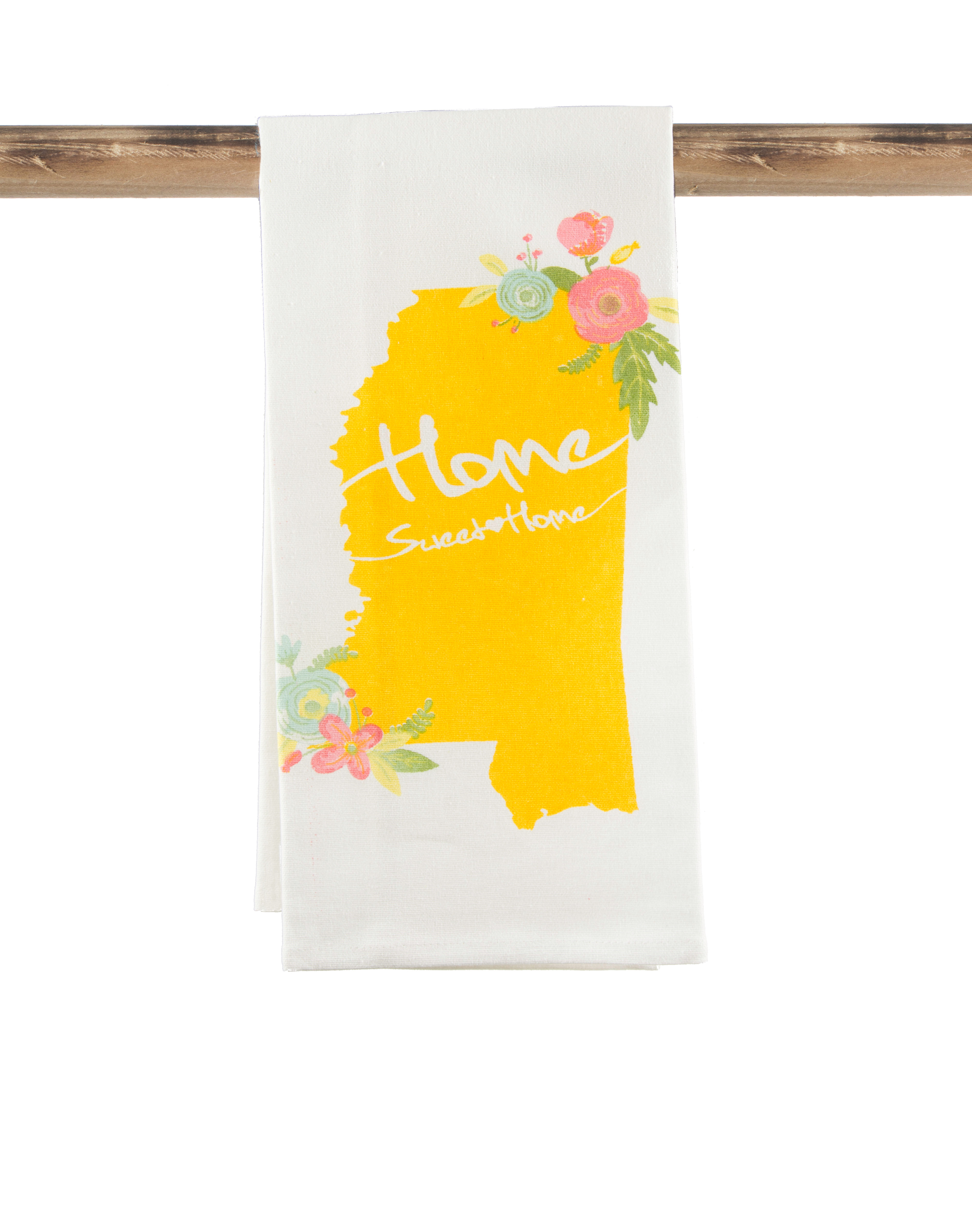 Hometown Kitchen Designs Mississippi Home Sweet Home Kitchen Towel The Parish Line