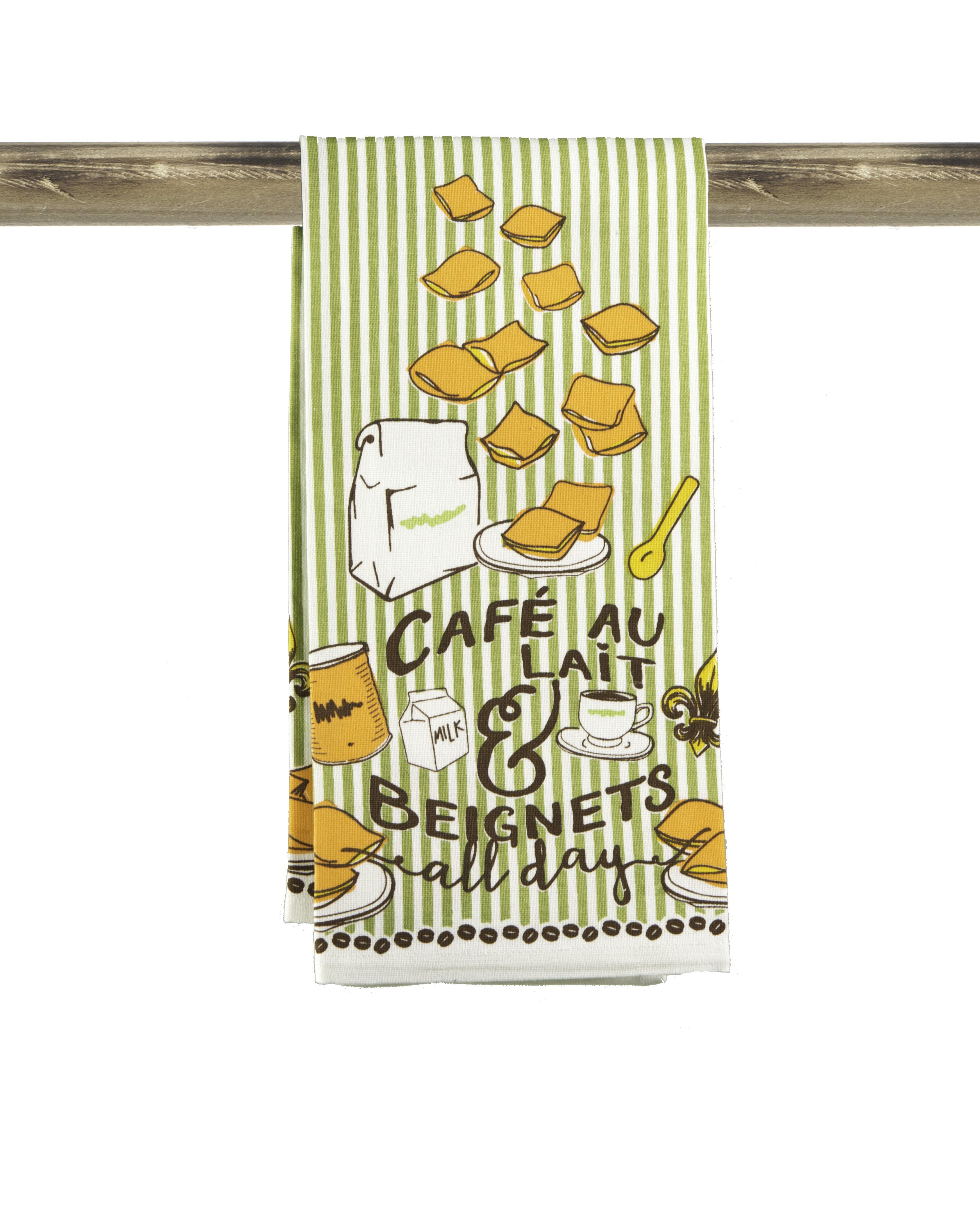 Cafe Au Lait Kitchen Decor